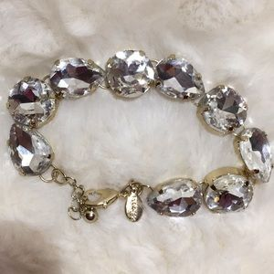 Faux diamond express bracelet